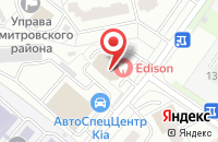 Схема проезда до компании Стройтехника в Москве
