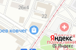 Схема проезда до компании Мозаика в Москве