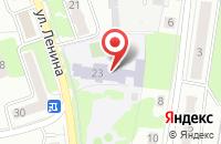 Схема проезда до компании Средняя общеобразовательная школа №3 в Климовске