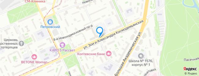 переулок Новоподмосковный 8-й