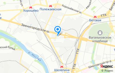 Местоположение на карте пункта техосмотра по адресу г Москва, туп 2-й Магистральный, д 5А