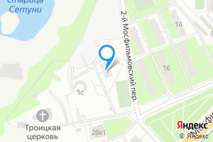 Однокомнатная квартира в Москве 2-й Мосфильмовский пер., 1