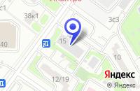 Схема проезда до компании ПТФ ЭЛТЕК-1 в Москве