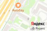 Схема проезда до компании 7 Диванов в Москве
