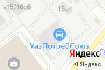 Схема проезда до компании Реклама 24 в Москве
