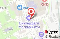 Схема проезда до компании Ванесса в Москве
