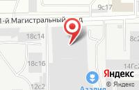 Схема проезда до компании Опсима в Москве