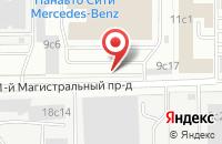 Схема проезда до компании Инвестстройтех в Москве