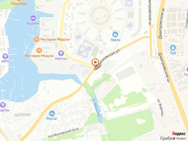 Остановка Яхт-клуб Аврора (Московская область)