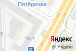 Схема проезда до компании ТриА в Москве