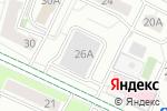 Схема проезда до компании Гаражно-строительный кооператив в Москве