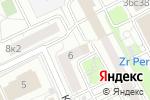 Схема проезда до компании Свежесть в Москве