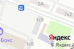 Схема проезда до компании Легенда Красоты в Москве