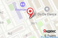 Схема проезда до компании Аудит-Профи в Москве
