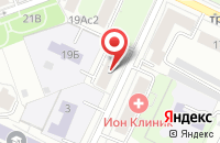 Схема проезда до компании Сди-Руссланд в Москве