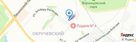 Кодзюцу на карте Москвы