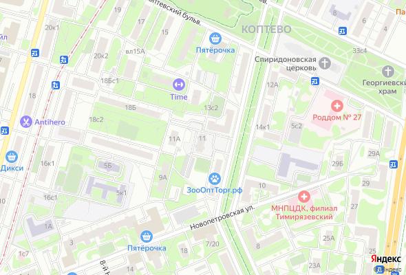 купить квартиру в ЖК Бульвар Матроса Железняка 11