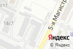 Схема проезда до компании Межрегиональные Медиа в Москве