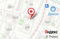 Схема проезда до компании Метмашкомплект в Москве