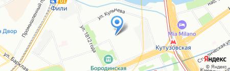 Полтекс на карте Москвы