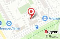 Схема проезда до компании Контент в Москве