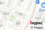 Схема проезда до компании Экспресс Вендинг в Москве