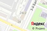 Схема проезда до компании УниверсалПодшипник в Москве