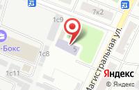Схема проезда до компании Алин-Пресс в Москве