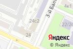 Схема проезда до компании Overseas Freight Agency в Москве