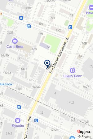 ТОРГОВАЯ КОМПАНИЯ ГАММА МК на карте Истры