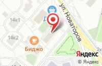 Схема проезда до компании Софтторг в Москве
