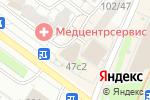 Схема проезда до компании Марков дворик в Москве