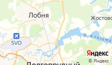Базы отдыха города Красная Горка на карте