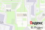 Схема проезда до компании Вон Гван в Москве