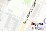 Схема проезда до компании Терос в Москве