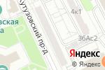 Схема проезда до компании Конкорд АТ в Москве