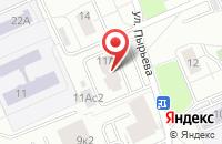 Схема проезда до компании Принтэд в Москве
