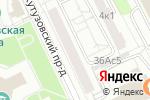 Схема проезда до компании Госномер.рус в Москве