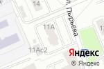 Схема проезда до компании Поддержка в Москве