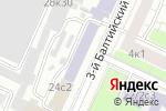 Схема проезда до компании ОптимаТест в Москве