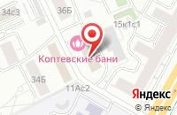 Схема проезда до компании Строй-Оптима в Москве
