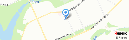 Фарт+ на карте Москвы