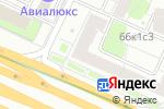 Схема проезда до компании Qmar в Москве