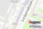 Схема проезда до компании Квалитет-Стандарт в Москве