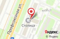 Схема проезда до компании Строительный Союз в Москве