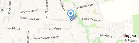 Почтовое отделение №1 на карте Анапы