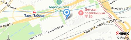 Меховая студия Эмиля Шабаева на карте Москвы