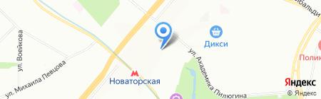 Специальная коррекционная общеобразовательная школа-интернат №108 VIII вида для умственно отсталых детей на карте Москвы