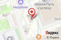 Схема проезда до компании НЦ Лоджистик в Москве