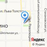 Средняя общеобразовательная школа №13 им. С.В. Залетина на карте Щёкино